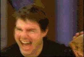 Tom Cruz Meme - oprah tom cruise sith the force lightning animated gif popkey