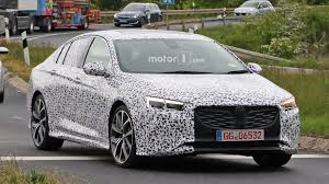 vauxhall usa spied holden commodore might actually be an opel insignia opc