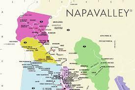 california map napa napa valley wine country maps napavalley