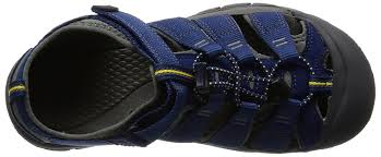 keen kids u0027 newport h2 hiking sandals blue depths gargoyle girls