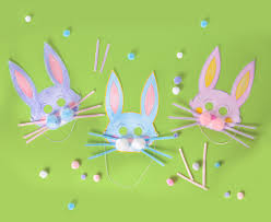 diy bunny mask easy easter craft