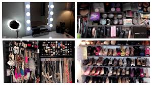 Organizing Makeup Vanity Beauty Room Tour Vanity Makeup Collection Organization Storage