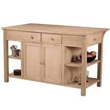 stationary kitchen islands unfinished furniture kitchen island home designs