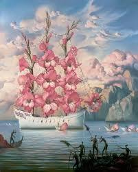 arrival of the flower ship vladimir kush somebody else had