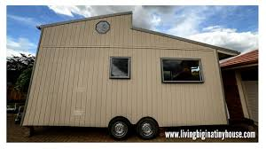 off the grid tiny house tour living big in a tiny house living