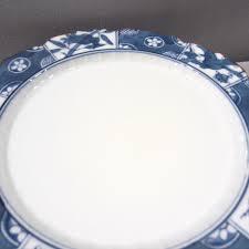 asian blue white floral bird scalloped dessert appetizer plates