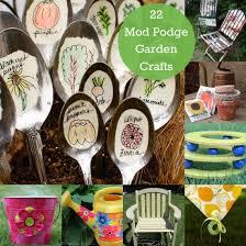 Garden Crafts Ideas - 22 unique mod podge garden crafts mod podge rocks