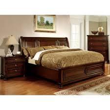 furniture of america barelle ii cherry 4 piece bedroom set free