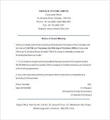 notice template 104 free word pdf format download free