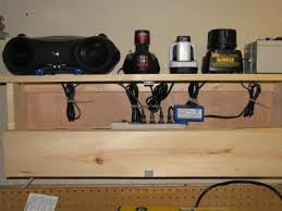 charging shelf station nothing special but this is just a small shelf i made for managing