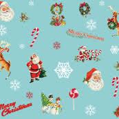 santa claus fabric wallpaper u0026 gift wrap spoonflower