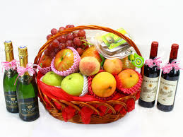 Wedding Gift Basket Fruit Basket Chinese Wedding Gift Basket 1 L14924 Give Gift