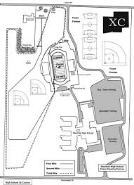 Canton Ohio Map by Glenoak Hs Track And Xc Course Canton Oh Venue