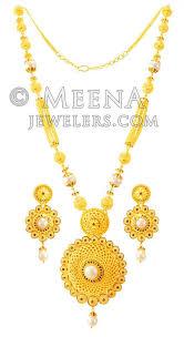 long necklace sets images 22karat gold long necklace set stls23712 us 5 984 22karat jpg