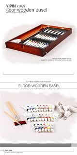 new french easel wooden sketch box portable folding art artist