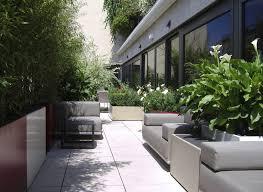 fiber cement planter rectangular custom contemporary bacs