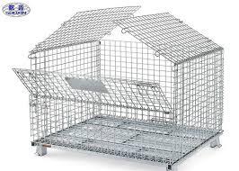 rete metallica per gabbie gabbie pallet della rete metallica di trasporto gabbie d