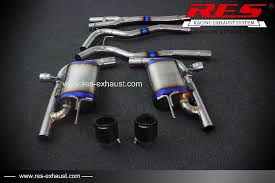 mustang titanium exhaust exhaust systems res racing for ford mustang dual exhaust system