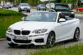 bmw 2 series convertible spied undisguised auto express