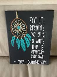 catcher albus dumbledore quote canvas by eastcoastcanvas