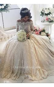 princess wedding dress beautiful lace sleeve princess wedding dresses 2018 gown