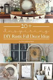 Fall Decor Diy - 20 inspiring diy rustic fall decor ideas the crafting nook by