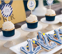 Anchor Decorations For Baby Shower Baby Shower Ideas Pottery Barn Kids