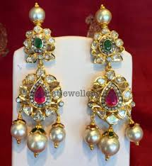 pachi earrings pachi necklace earrings jewellery designs