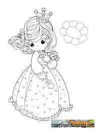 precious moments dressed princess coloring digi stamps