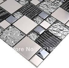Best  Stainless Steel Tiles Ideas On Pinterest Stainless - Glass and metal tile backsplash