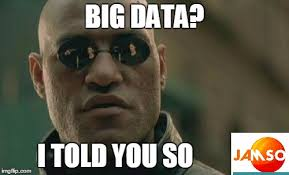 Meme Pictures With Captions - matrix morpheus knew the power of bigdata it is the matrix meme