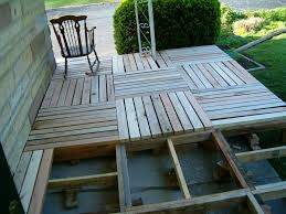 Wood Pallet Patio Furniture by Redo Redux Revisiting Past Projects Pallet Wood Front Porch