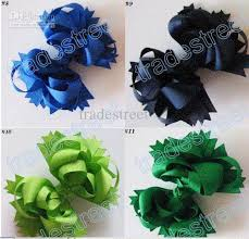 boutique hair bows boutique hair bows 5 5 inches boutique funky hair bow mix color