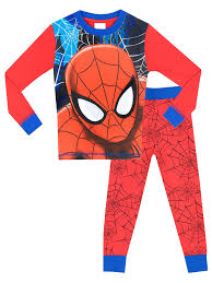 spiderman halloween costumes for kids amazon com spider man boys u0027 spiderman pajamas clothing