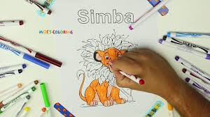 coloring book simba timon and pumbaa disney coloring page the lion