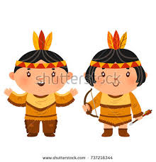 tooth pilgrim costume thanksgiving day stock vector 718660399