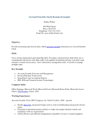 Accounting Clerk Resume Examples by Accounting Clerk Resume No Experience Free Resume Example And