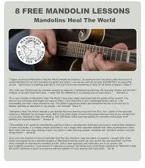 enjoy 8 free mandolin lessons mandolins heal the world