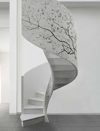 stairs for small spaces behind the staircase wall decorating