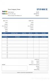 invoice template excel for small business uk saneme