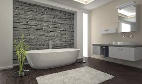 stone tiled bathroom vanity mosaic tile square mirror on wall