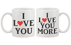 His And Hers Mug I Love You Couple Matching Coffee Mug His And Hers Matching Coffee Mu