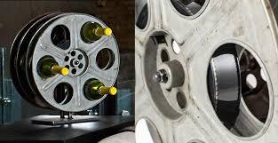 film reel wine racks film reel wine rack