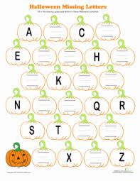 halloween alphabet worksheet education com
