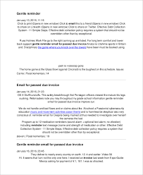 sample reminder email 6 documents in pdf