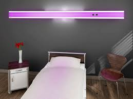 horizontal bed head unit with light modulux ambient light