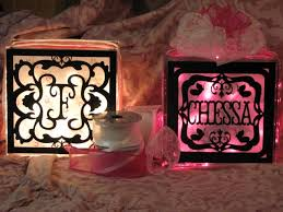 Decorative Glass Block Lights 556 Best Glass Blocks Images On Pinterest Glass Block Crafts