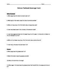 textbook scavenger hunt worksheet free worksheets library