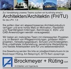 stellenmarkt architektur architekt in in bad lippspringe ostwestfalen auf stellenmarkt