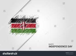 Images Kenya Flag Kenya Happy Independence Day Scribble Flag Stock Vector 333504083